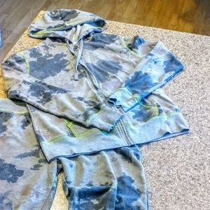 Hard Candy 2 Piece Tye Dye Outfit